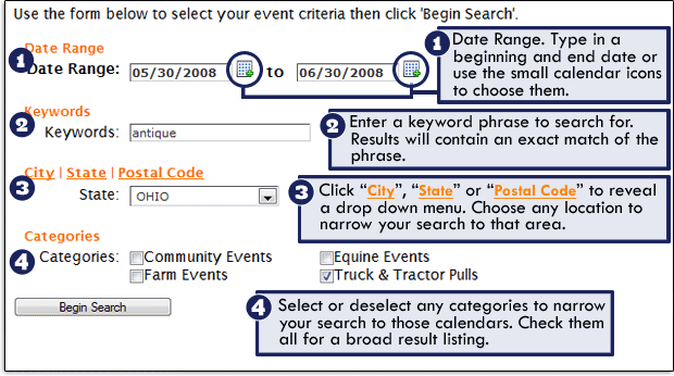Find Local Events Using FarmandDairy.com
