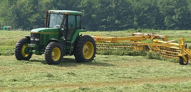 Make hay when the sun shines, but do it fast!