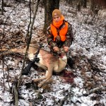 Even Ferguson shot a doe in Mechanicstown, Ohio, this season.