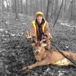 Lawrence Kaufman shot this 12-point buck in Stark County, Ohio.