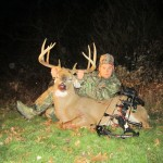 Mike Crawford shot this 9-point, 158-pound buck in Trumbull County, Ohio