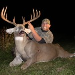 Chase Adams of Salem, Ohio, tagged a 12-point during hunting season's opening weekend.