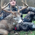 Joseph Zollars shot this deer with a long bow in Holmes, County, Ohio.