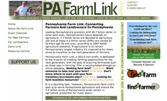 Pennsylvania Farm Website