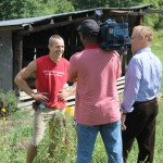 Dan King is getting used to the cameras. He talks to KDKA about the reality tv show.