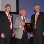 Steve Maurer, former state senator and director of the Ohio Department of Agriculture, received OFBF's highest award at this year's annual meeting. Maurer is currently executive director of the USDA's Farm Service Agency in Ohio.