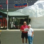 Richard and Marylynne Macek, of East Palestine, Ohio, visited the Titanic exhibit in Branson, Mo. Farm and Dairy joined them, but stayed on dry land!