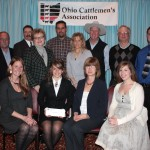 Members of the Fairfield County Cattlemen's Association received an affiliate award for their county promotion programs.