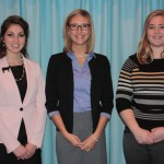 Winners of the Cattlemen's Country Club scholarships include Laura Schmuki, Lauren Prettyman and Lydia Ulry.