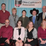 Members of the Stark County Cattlemen's Association received an affiliate award for their local programs.