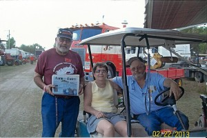 Dan Renovetz, of Northfield, Ohio, brought Farm and Dairy along for his rookie trip to the Florida Flywheelers February Tractor Show. It was a repeat trip for Marti and Dan Schaefer, of New Springfield, Ohio. Renovetz participated in the vehicle parade three mornings and drove a Silver King tractor in the tractor parade. He hopes to return next year and Farm and Dairy will be happy to join him!