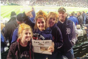 Farm and Dairy traveled to Detroit with Marion, Linda, Bridgett and Kaylee Keim, of Beach City, Ohio, for the World Series. Even though the Tigers lost, the memories will last a lifetime!