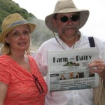 Connie and Steve Rohr, of Jackson Township, Ohio, gave Farm and Dairy a glimpse of some of the unforgettable sights in St. Lucia, including the La Soufriere volcano, shown here. The Rohr's spent a week in St. Lucia with family, sailing around the island and sightseeing. The Rohr family has a large dairy operation close to Canal Fulton.