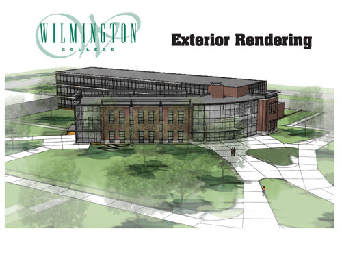 Wilmington College addition