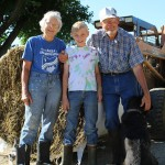 Ken and Marilyn Ruprecht, with grandson, Carl.