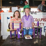 Allison Slutz won reserve champion project turkey honors.