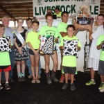The Geauga Dairymen 4-H Club dairy basket sold for $2,000 to Ed Babcock of Junction Auto Sales.