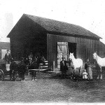vintage dairy farm photo