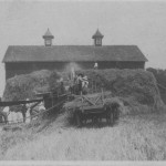 (Photo courtesy Walter Berg)This photo, taken sometime during the early 1900s, was in Richland County, Ohio.  The barn in this photo is still in use.