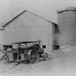 (Photo courtesy Walter Berg)This silo at the Baughman homestead in Richland County, Ohio, is being filled by a steam engine. This photo was taken in 1914 or 1915.