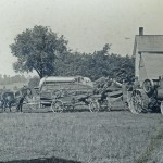 Vintage farm equipment photo