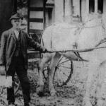 (Submitted by Wayne Bricker)This 1905 photo captured Joseph Brokaw delivering milk in Flushing, Ohio. His great-grandson, Wayne Bricker, of Bolivar, Ohio, shared the photo with us.