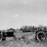 (Submitted by Jay White)Jay White and his father, Floyd, plow a field with a pair of 1936 Oliver Hart Parr 70 tractors with John Deere plows. This photo was taken five miles east of Dalton, Ohio, in 1957.