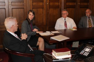 Rep. Bill Johnson (left).