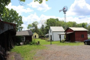 The 40-building Western Reserve Museum of Farms and Equipment.