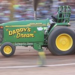 All the Schwartz family were at a wedding, but they grabbed a driver to make sure Daddy's Dream made it down the track.