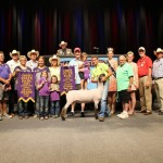 Grand Champion Market Lamb Exhibited by:  Logan Harvel