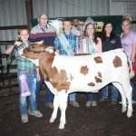 Mac Trailer paid $6.50 a pound for Jarrod Rose's 509-pound reserve champion dairy beef feeder.