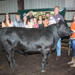 Alexa Baker was the junior steer showmanship winner.
