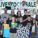 Dave and Colleen Nemec paid $1,750 for the Geauga Dairymen 4-H Club basket.
