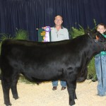 Fairview Cheese, represented by Rick Koller, paid $3.30 a pound for Chance Rains' 1,306-pound grand champion steer.